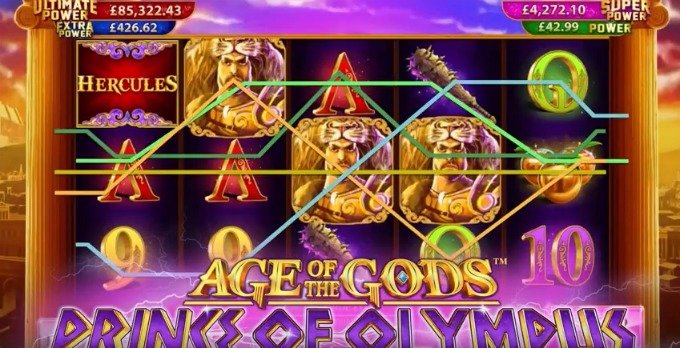 Play Age of the Gods: Prince of Olympus slot at Bet365 casino