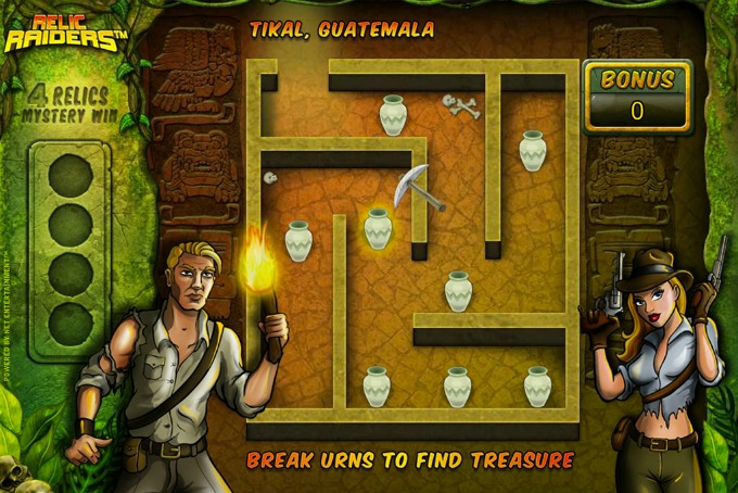 Play Relic Raiders slot at Betsafe casino