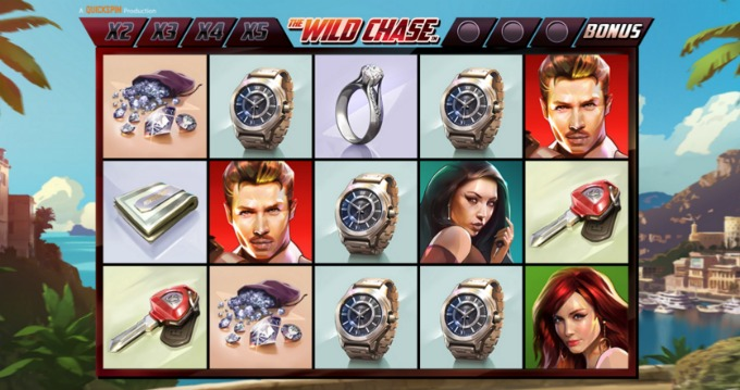 Play The Wild Chase slot at InstaCasino