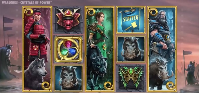 Play Warlords: Crystals of Power slot at LeoVegas Casino