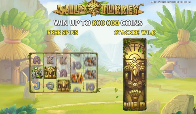 Play Wild Turkey slot at Dunder Caisno