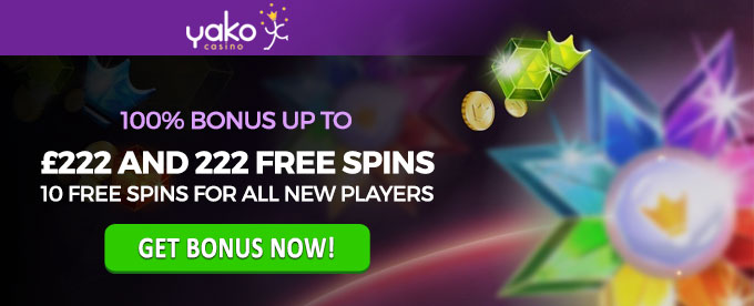 Try Yako Casino Now and get Bonus
