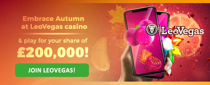 Click to join LeoVegas casino!