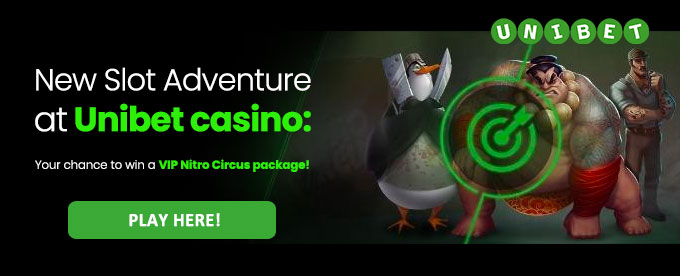Click to play slots at Unibet casino!