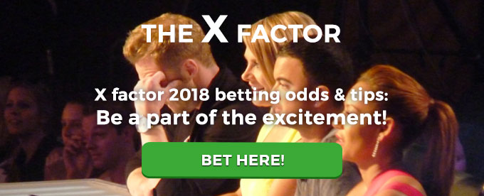 X factor betting odds winner key numbers in basketball betting system