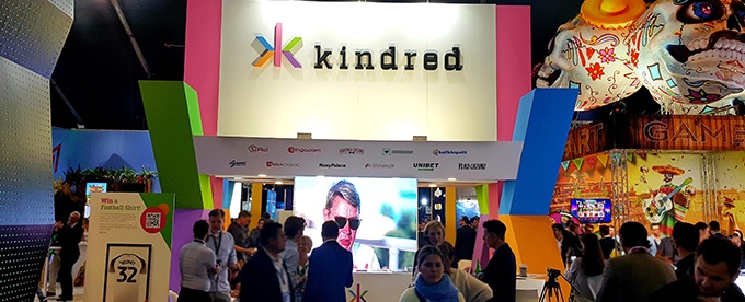 Kindred stand at SIGMA 2019