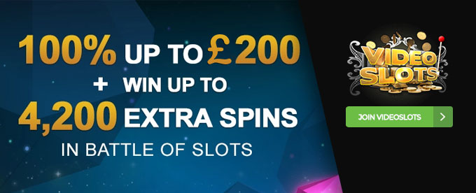 Click here to join VideoSlots casino