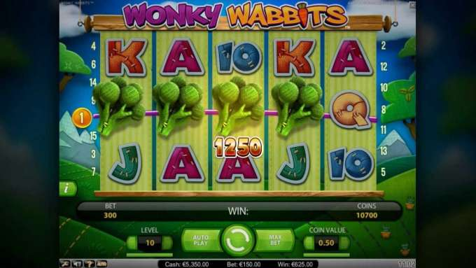 Wonky Wabbits™ - Net Entertainment