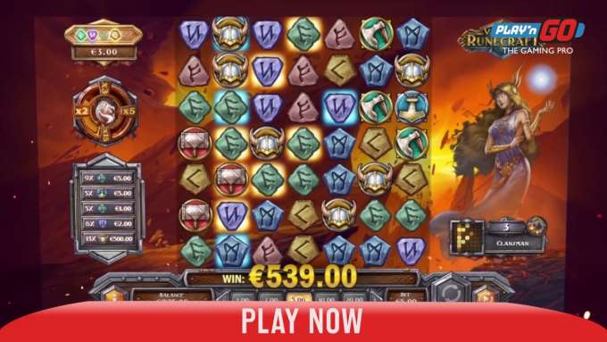 CasinoHawks - Viking Runecraft slot preview