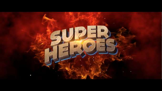 Super Heroes / Video Slot / Intro Video