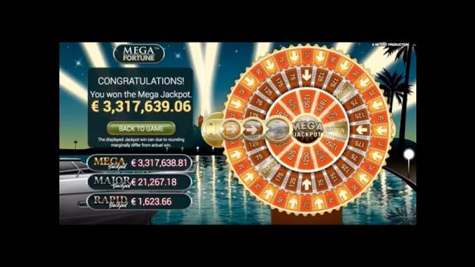 28-year-old from Sweden wins a €3.3 million jackpot in Mega Fortune at Casumo