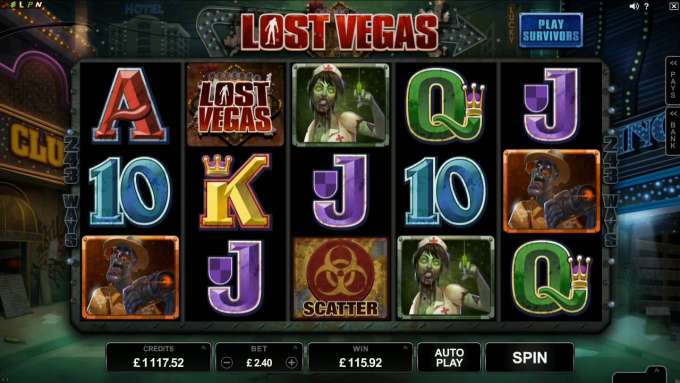 Lost Vegas Game Promo Video